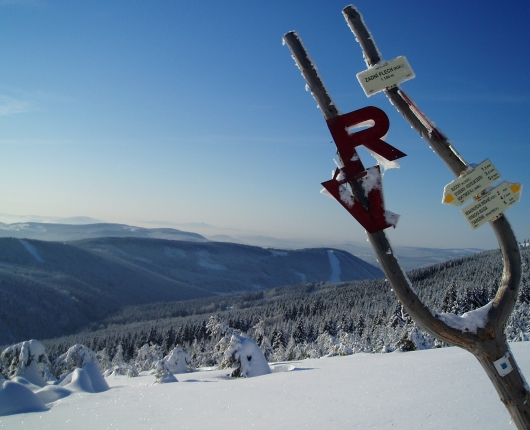 Riesengebirge im Winter