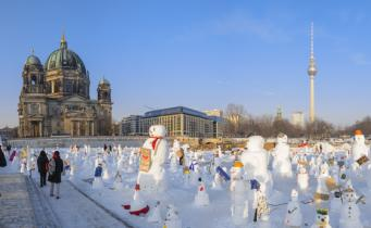Berlin im Winter